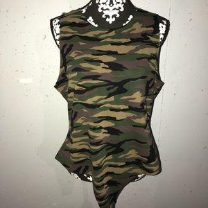 Camo Bodysuit